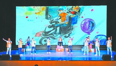 港市锡剧小戏《小鸟在前面带路》   姑苏区沧浪街道沧浪艺术团舞蹈《图片
